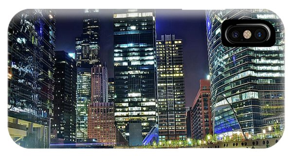 Hancock Building iPhone Case - Chicago Towers 2017  by Frozen in Time Fine Art Photography