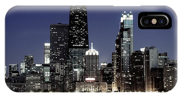 Chicago At Night High Resolution IPhone Case