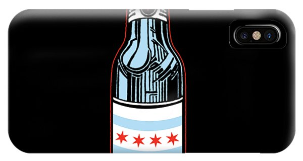 Beverage iPhone Case - Chicago Beer by Mike Lopez
