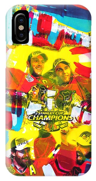 Chicago Blackhawks 2015 Champions IPhone Case