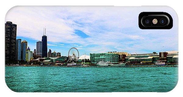 Chicago Blue IPhone Case