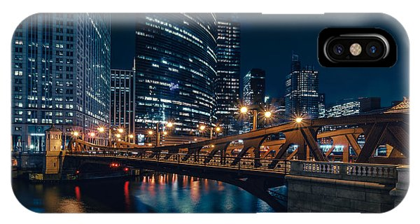 Chicago Blue II IPhone Case