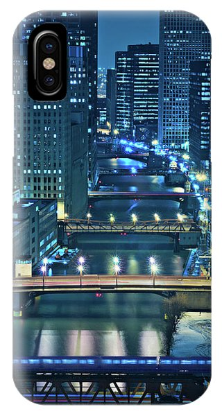 River iPhone Case - Chicago Bridges by Steve Gadomski