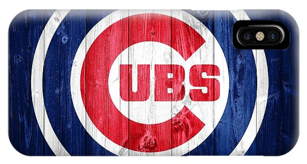 Chicago Cubs Barn Door IPhone Case