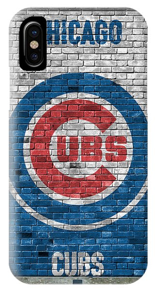 Chicago Cubs Brick Wall IPhone Case