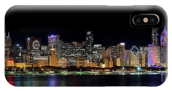 Chicago Cubs Skyline IPhone Case
