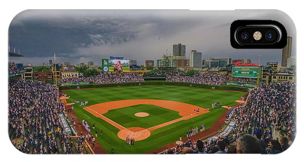 Chicago Cubs Wrigley Field 4 8213 IPhone Case