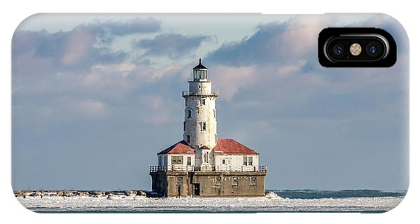 Chicago Harbor Lighthouse IPhone Case
