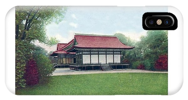 Chicago - Japanese Tea Houses - Jackson Park - 1912 IPhone Case