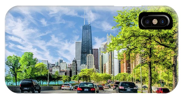 John Hancock Center iPhone Case - Chicago Lake Shore Drive by Christopher Arndt
