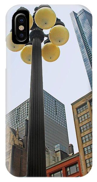Chicago Lampost IPhone Case