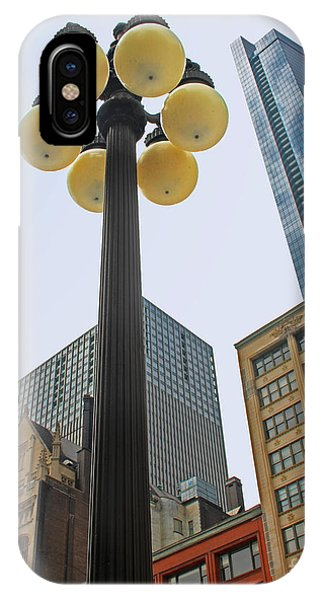 Chicago Lampost IPhone Case