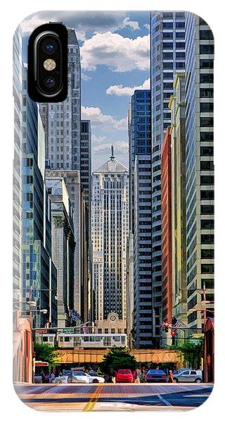 Chicago Lasalle Street IPhone Case