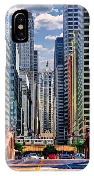 Chicago Lasalle Street IPhone Case