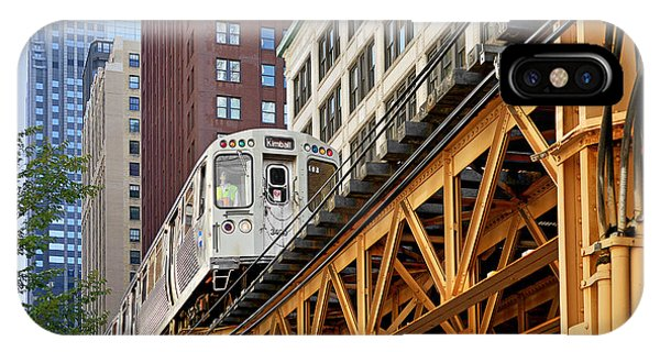 Chicago Loop 'l' IPhone Case