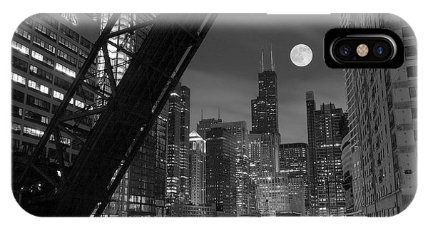 Chicago River iPhone Case - Chicago Pride Of Illinois by Frozen in Time Fine Art Photography