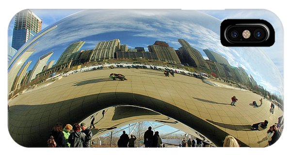 Chicago Reflected IPhone Case