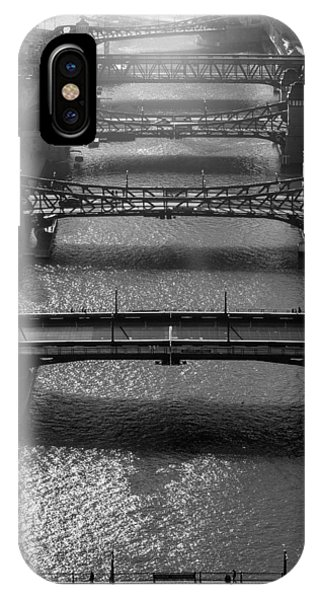 Chicago River iPhone Case - Chicago River Daylight by Steve Gadomski