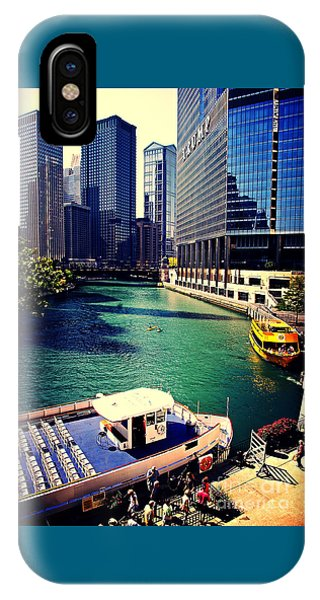 City Of Chicago - River Tour IPhone Case