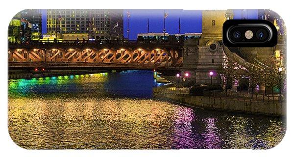 Chicago River Ver2 IPhone Case