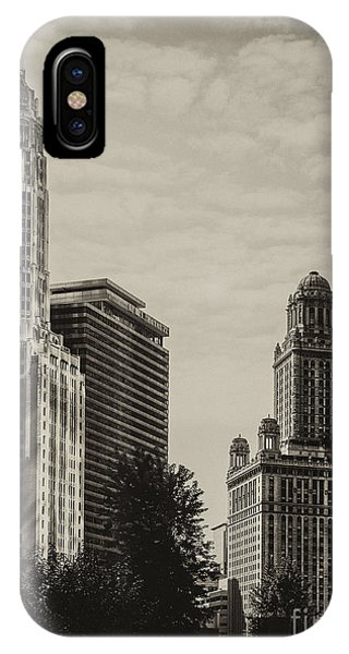 iPhone Case - Chicago Riverside by Andrew Paranavitana