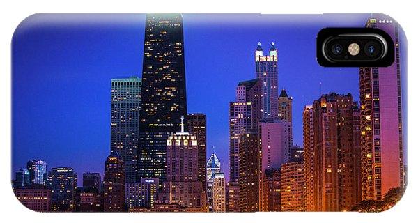 Chicago Shoreline Skyscrapers IPhone Case