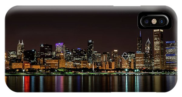 IPhone Case featuring the photograph Chicago Skyline by Andrea Silies