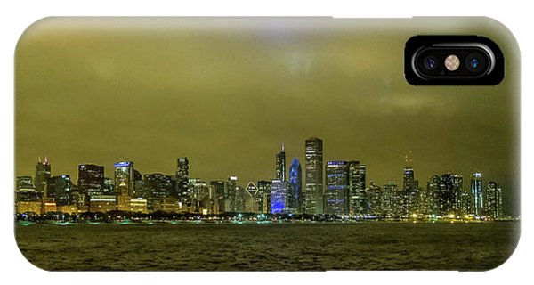 IPhone Case featuring the photograph Chicago Skyline by Matthew Chapman