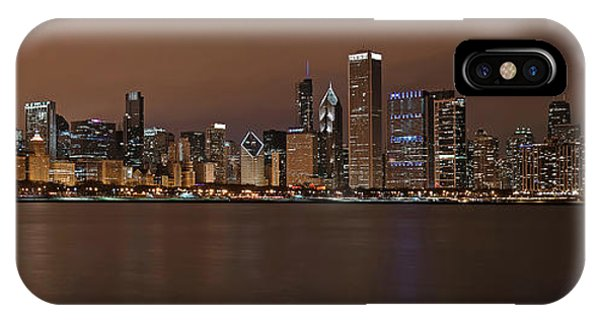 Chicago Skyline Panorama IPhone Case