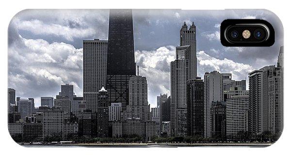 Chicago Skyline Ver3 IPhone Case