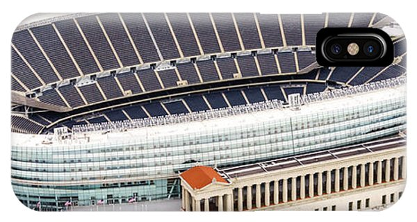 Chicago Soldier Field Aerial Photo IPhone Case
