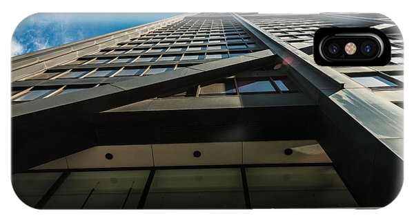 John Hancock Center iPhone Case - Chicago Structure by Steve Gadomski