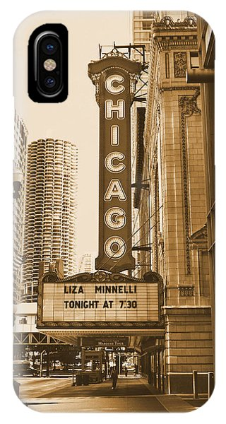 Chicago Theater - 3 IPhone Case