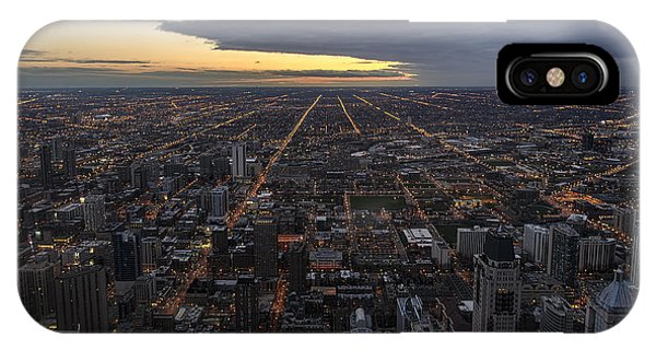 IPhone Case featuring the photograph Chicago Westward by Steven Sparks