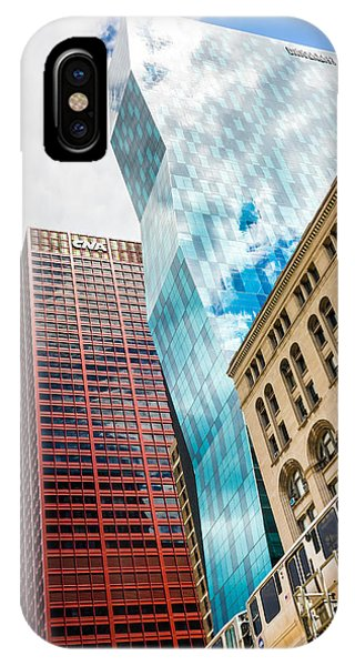 Chicago's South Wabash Avenue  IPhone Case