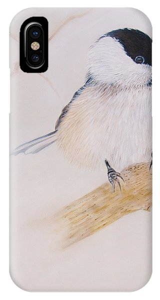 Chick-a-dee IPhone Case