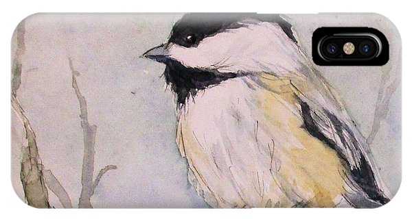 Chickadee Dee Dee IPhone Case