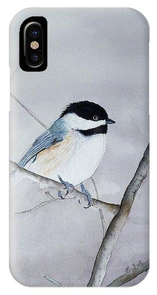 Chickadee II IPhone Case