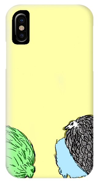 Chickens Three IPhone Case