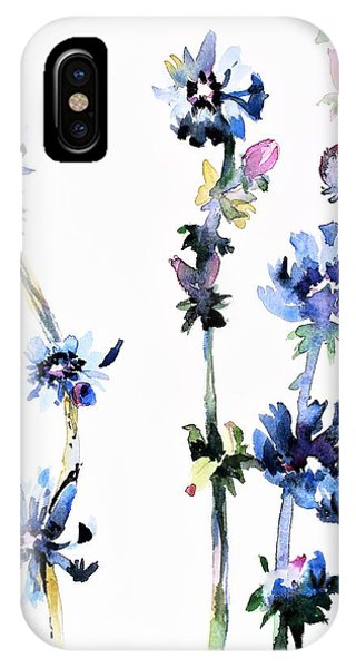 Protein iPhone Case - Chicory by Mindy Newman