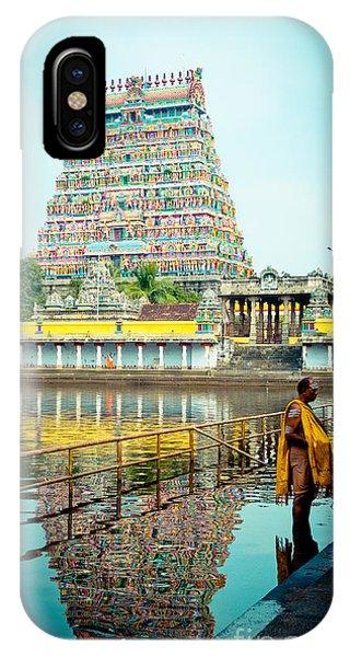 Chidambaram Temple Lord Shiva India IPhone Case