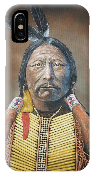 Chief Buckskin Charley IPhone Case