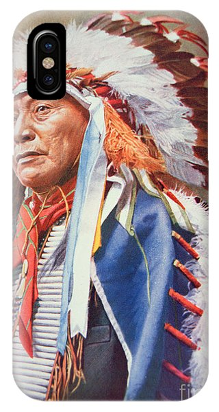 20th Century Man iPhone Case - Chief Hollow Horn Bear by American School