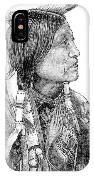 Chief Joseph Of Nes Perce IPhone Case