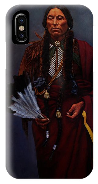 Chief Quanah Parker IPhone Case