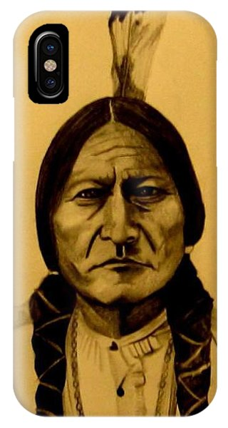 Chief Sitting Bull  Tatanka Iyotake IPhone Case