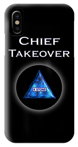 iPhone Case - Chief Takeover by K STONE UK Music Producer