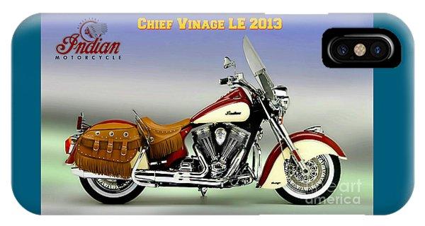 Chief Vintage Le 2013 IPhone Case