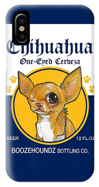 Chihuahua One-eyed Cerveza IPhone Case