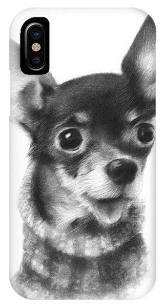 Chihuahua Pup IPhone Case